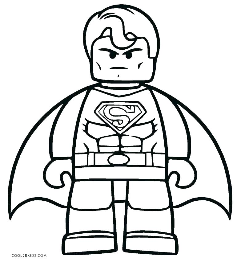 770x850 Coloring Pages Print Superman Emblem Coloring Pages Free Superman