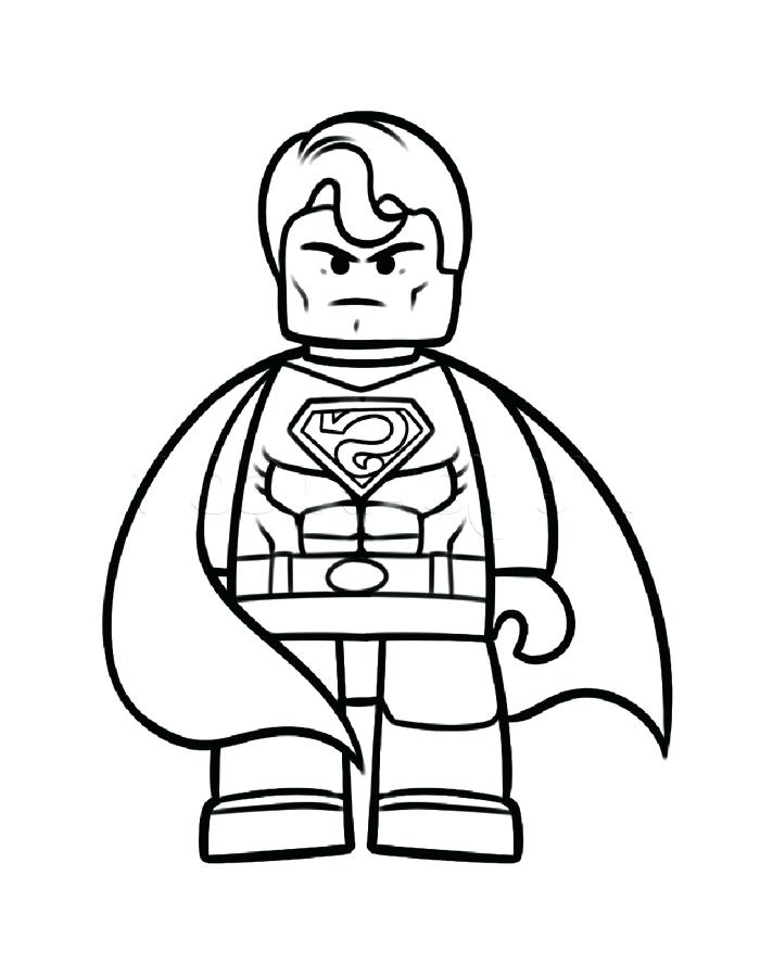 graphic regarding Superman Coloring Pages Printable named Superman Printable Coloring Webpages at  Absolutely free