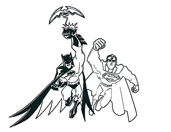 700x541 Batman Vs Superman Color Pages Vanda