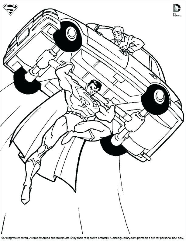 612x792 Superhero Coloring Page Superman Symbol Coloring Pages Superman