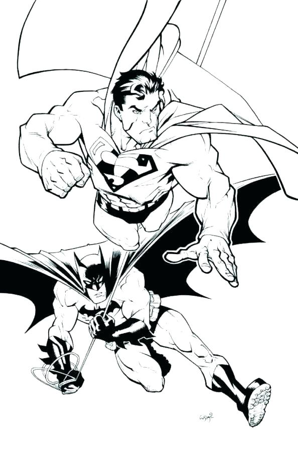 594x900 Superman Color Page Superman Color Pages Superman Coloring Pages