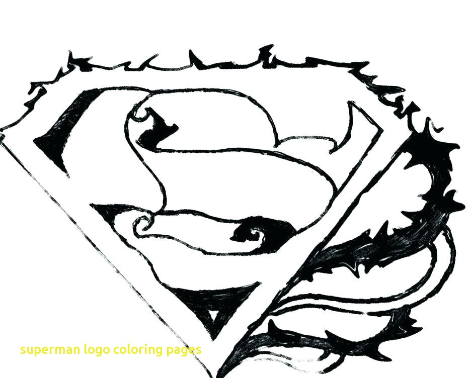 936x752 Superman Logo Coloring Pages With Superman Logo Coloring Page Draw