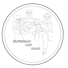 230x230 Top Free Printable Superman Coloring Pages Online