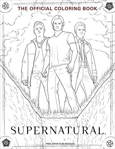 386x500 Supernatural Coloring Book Pages