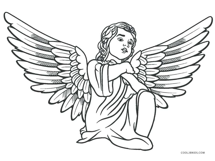900x676 Supernatural Coloring Pages Angel Coloring Pages Printable