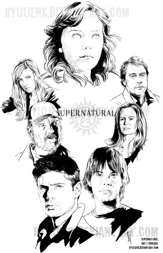 564x877 Supernatural Coloring Pages To Download And Print For Free
