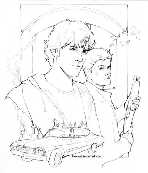 The Best Free Supernatural Coloring Page Images Download From 43