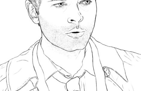 469x304 Supernatural Coloring Pages Just Colorings