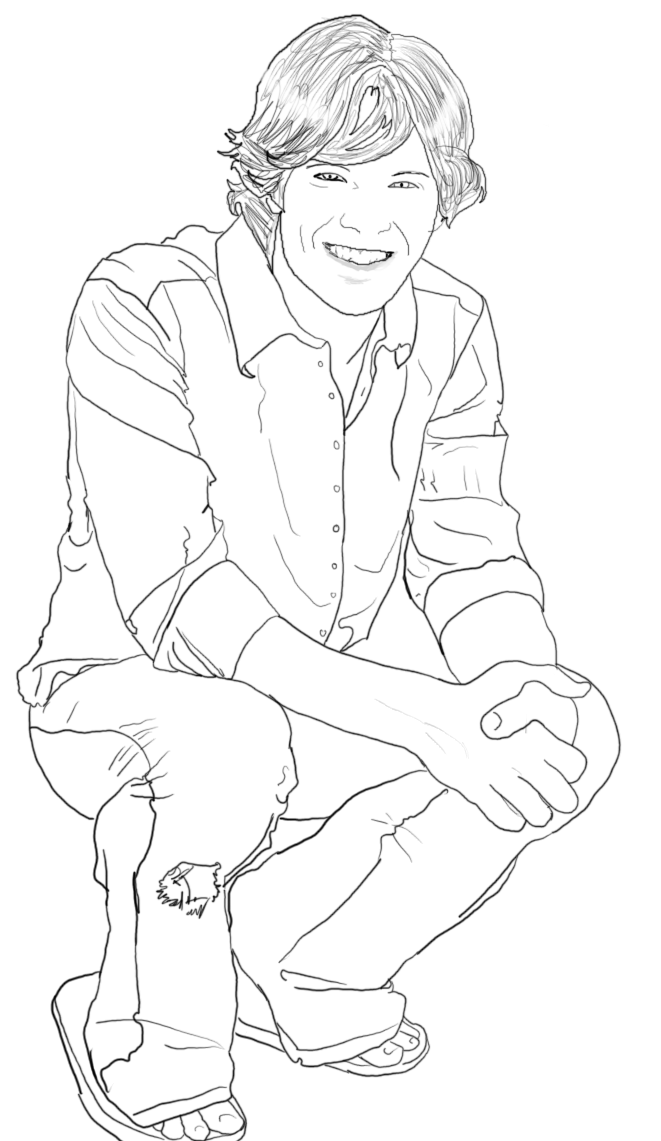 661x1141 Castiel Supernatural Coloring Pages