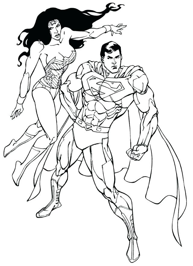 640x881 Superwoman Coloring Pages Wonder Woman Color Pages Many