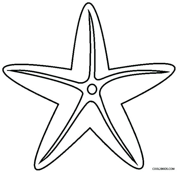 600x581 Surfboard Coloring Pages Inspirational Starfish Coloring Pages