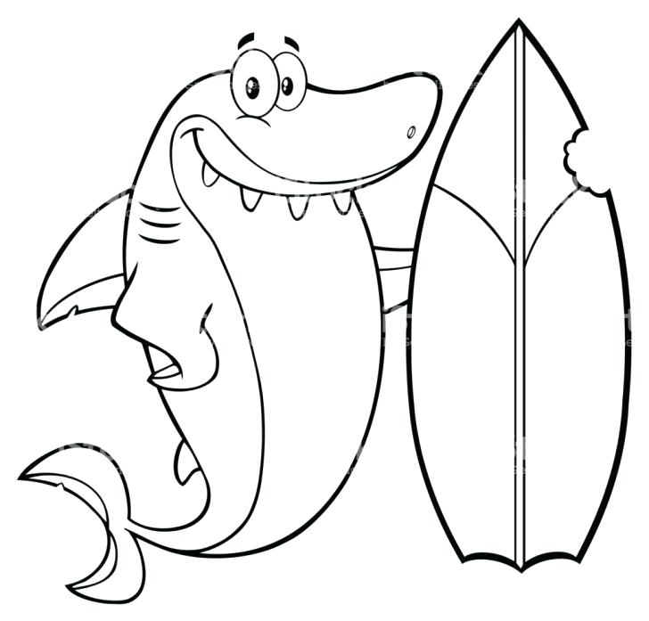 Surfboard Coloring Page At Getdrawings Com Free For Personal Use