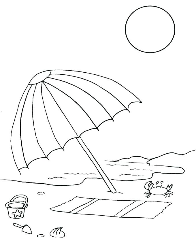 680x843 Surfboard Coloring Pages Surfboard Coloring Pages Umbrella