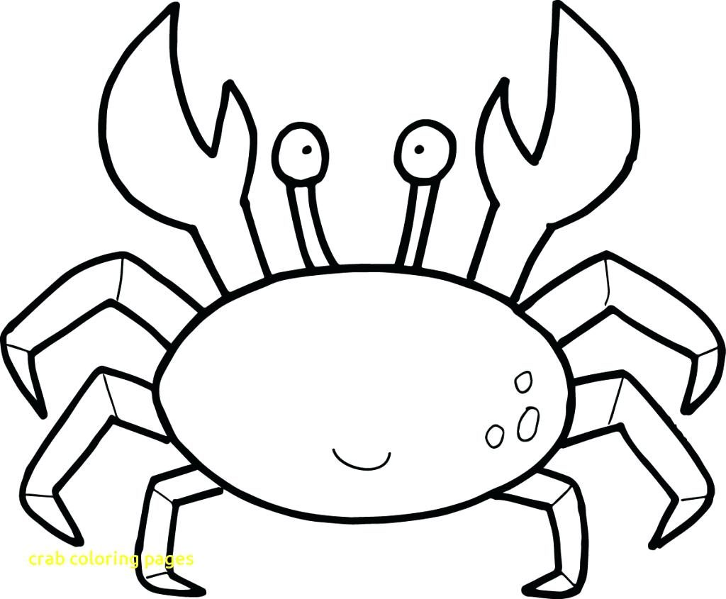 1024x845 Coloring Page Surfboard Coloring Page Crab Pages