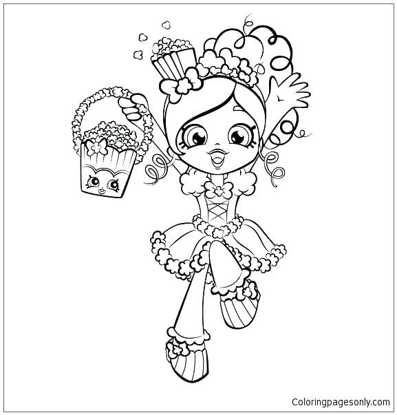 Surfer Girl Coloring Pages