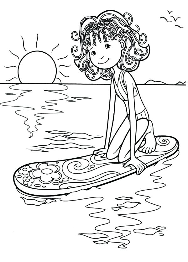 It's just a photo of Exhilarating Surfing Coloring Pages