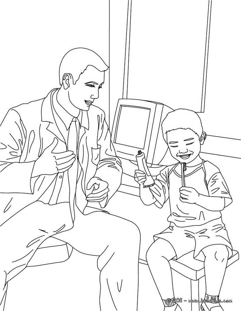 Doctors Coloring Pages | 1060x820