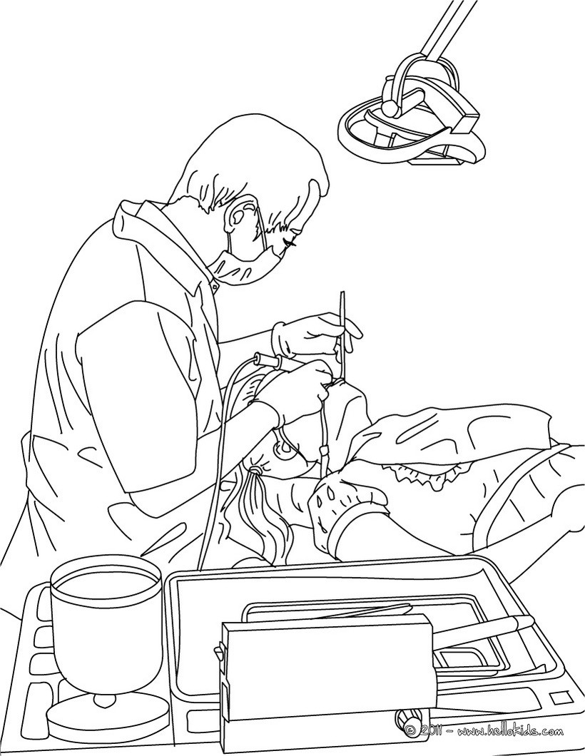 820x1060 Dentist Coloring Page Amazing Way To Discover Job More Original