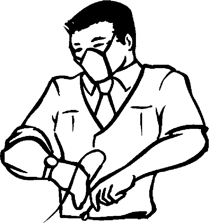 675x720 Surgeon Coloring Pages