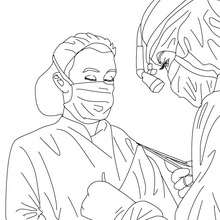 220x220 Surgeon Coloring Pages