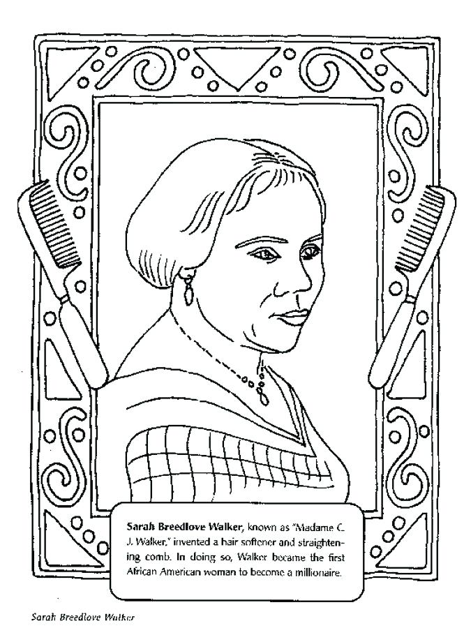 665x900 Susan B Anthony Coloring Page Black History Month Coloring Pages