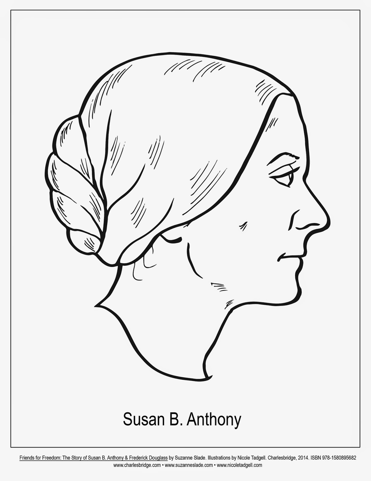 1236x1600 Susan B Anthony Coloring Pages