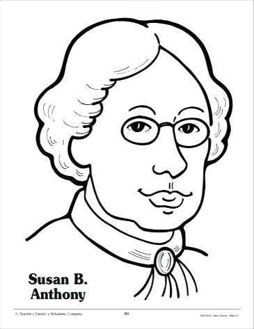 365x473 Susan B Anthony Coloring Page Awesome Susan B Anthony Coloring