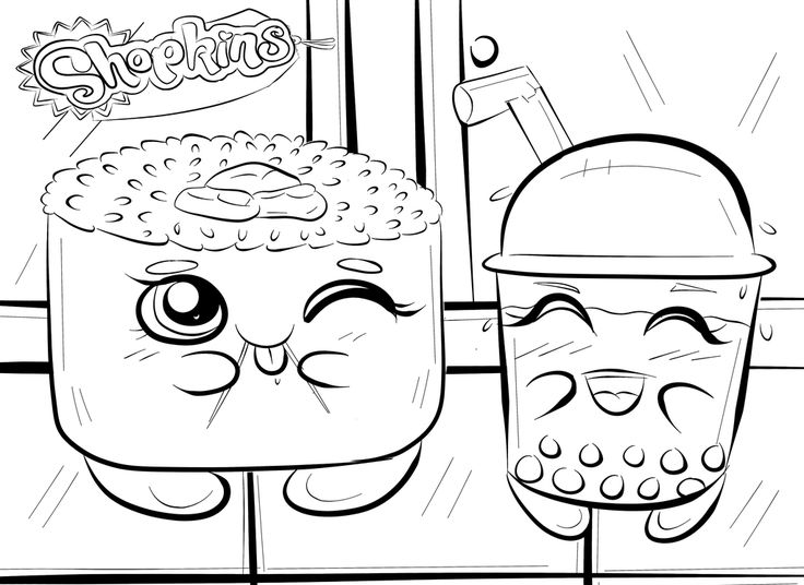 736x536 Best Shopkins Images On Coloring Books, Adult