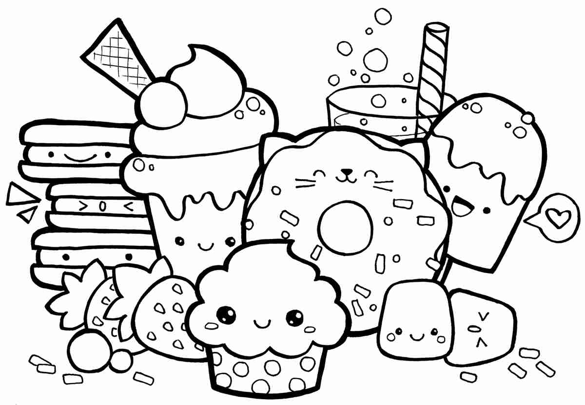 Sushi Coloring Pages at GetDrawings   Free download