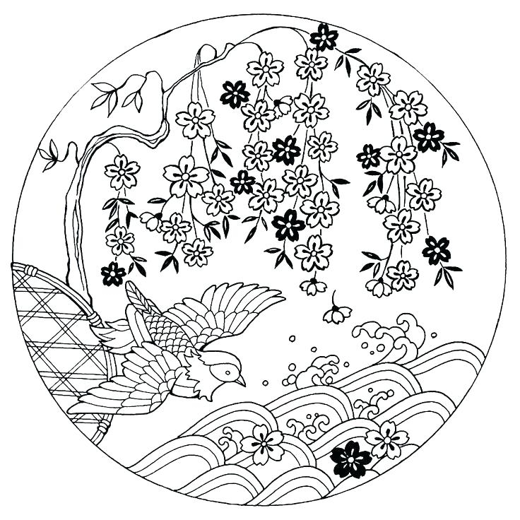 736x736 Japanese Food Coloring Pages