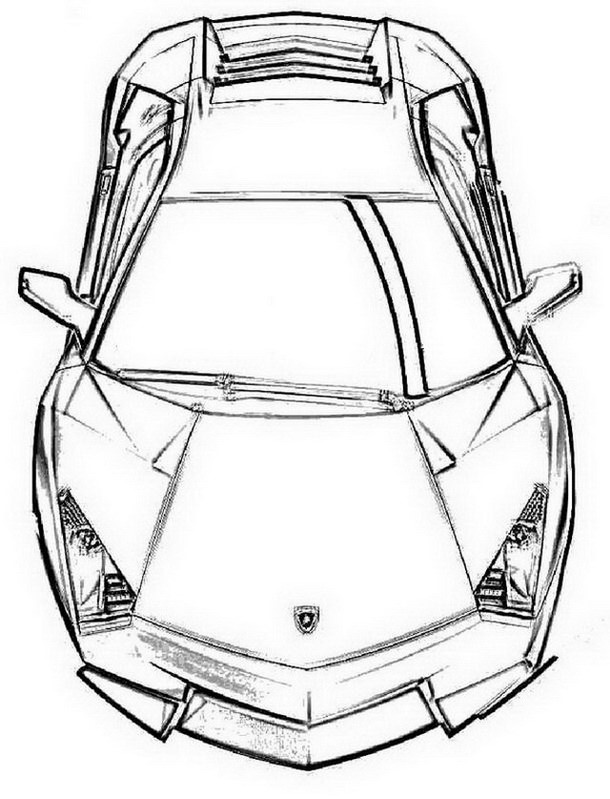 610x799 How To Find Free Lamborghini Coloring Pages To Print