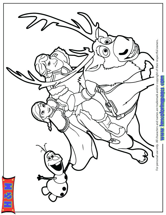 Sven Coloring Pages at GetDrawings.com | Free for personal use Sven ...
