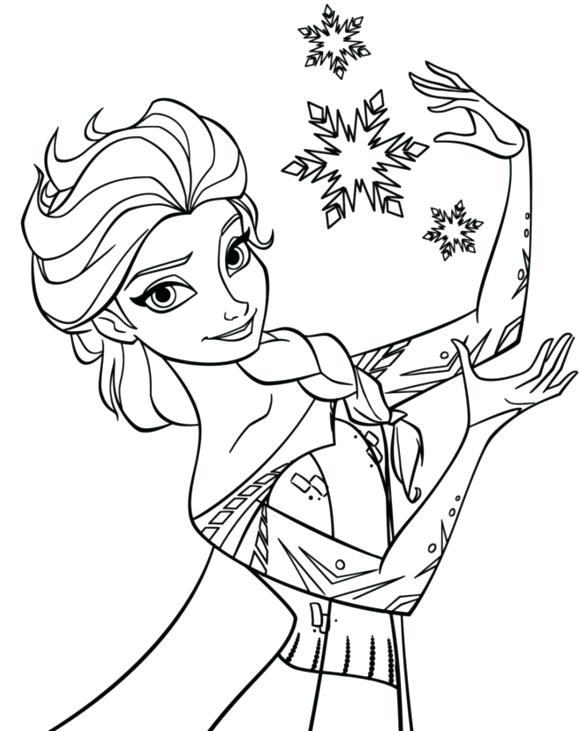 580x731 Frozen Coloring Pages Sven Nice Frozen Coloring Pages