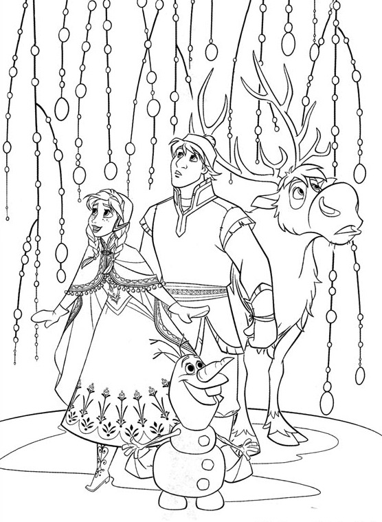 556x759 Hard Frozen Coloring Pages Copy Elsa For Christmas Page With Olfa
