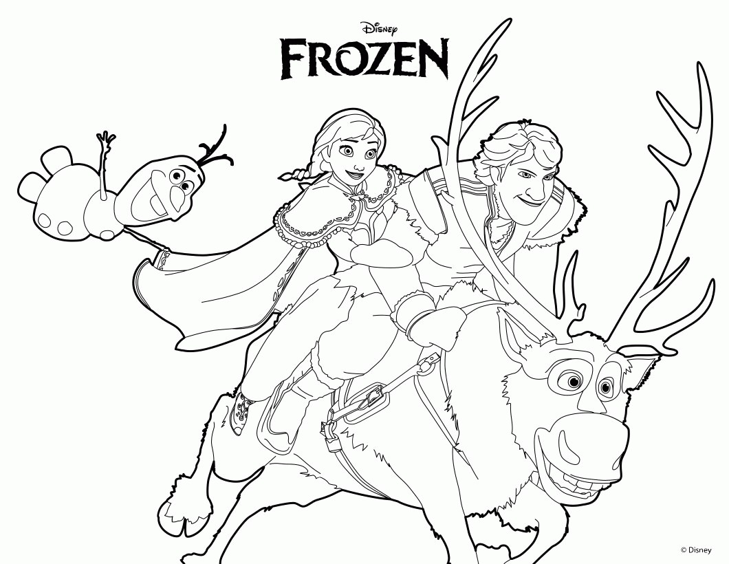 1060x820 Hard Frozen Coloring Pages Fresh New A Z Colouring Kids