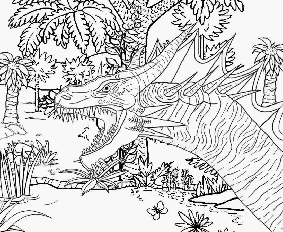 1100x900 Incredible Coloring Page Swamp For Kids Animal Scene Teccsjc Pics