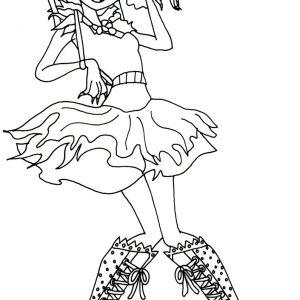300x300 Monster High Honey Swamp Coloring Pages Best Of Page Wetland
