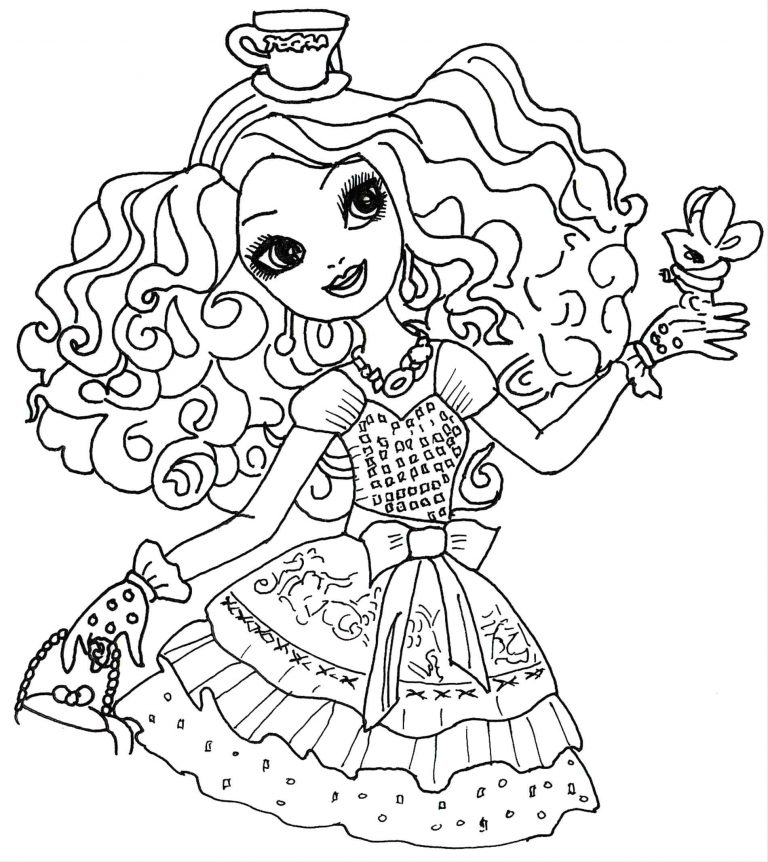 768x862 Monster High Honey Swamp Coloring Pages Fresh Page Gorgon Custom