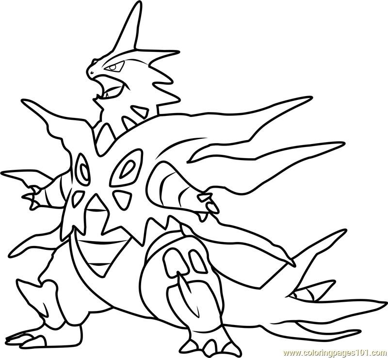 800x738 Pokemon Mega Coloring Pages Download