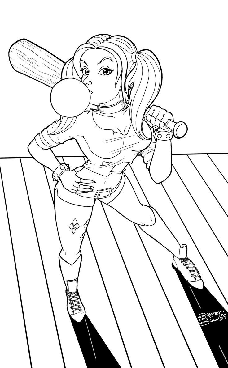 736x1191 Swat Team Coloring Pages Awesome Harley Quinn Coloring Pages Best