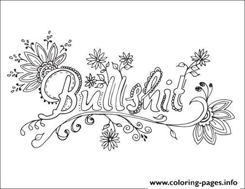 504x389 Curse Word Coloring Pages Printable Word Coloring Pages Free