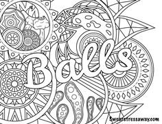 photo regarding Swear Word Coloring Pages Printable Free named Swear Phrase Coloring Webpages Printable at