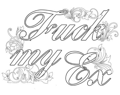 Swearing Coloring Pages At Getdrawings Com Free For Personal Use