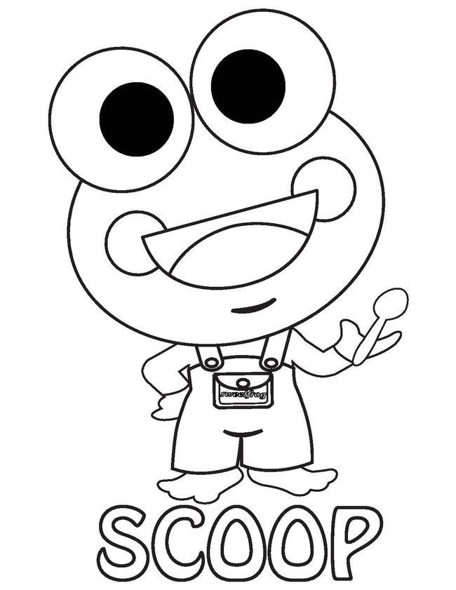 650x841 Sweet Frog Coloring Contest! Win Some Sweet Prizes!! Macaroni Kid