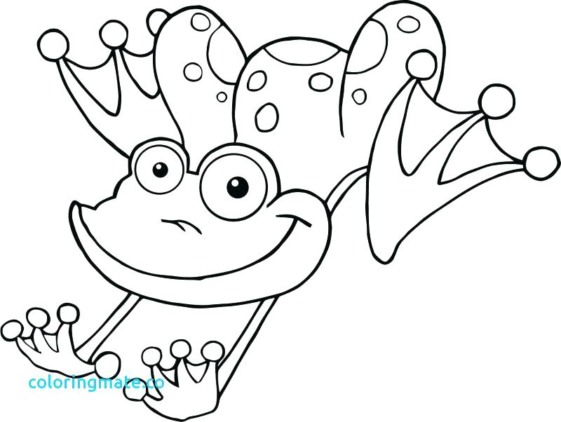 The best free Frog coloring page images. Download from 1229 free ...