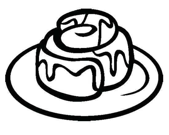 550x439 Sweet Potato Pie Coloring Page Bread Roll Pencil And In Color