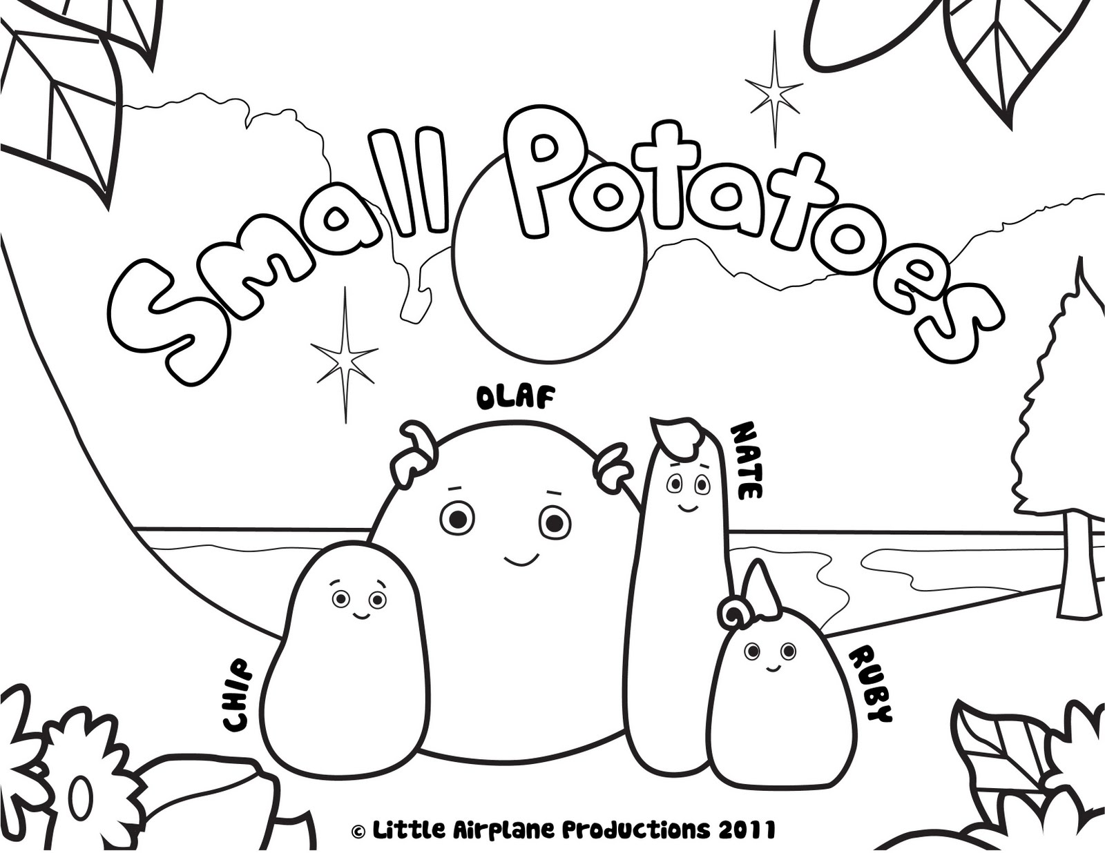 1600x1236 Guaranteed Potato Chip Coloring Page Small Pag