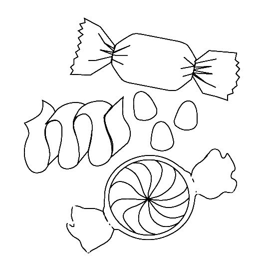 523x540 Interesting Design Candy Coloring Pages Sweet Treats Online Page