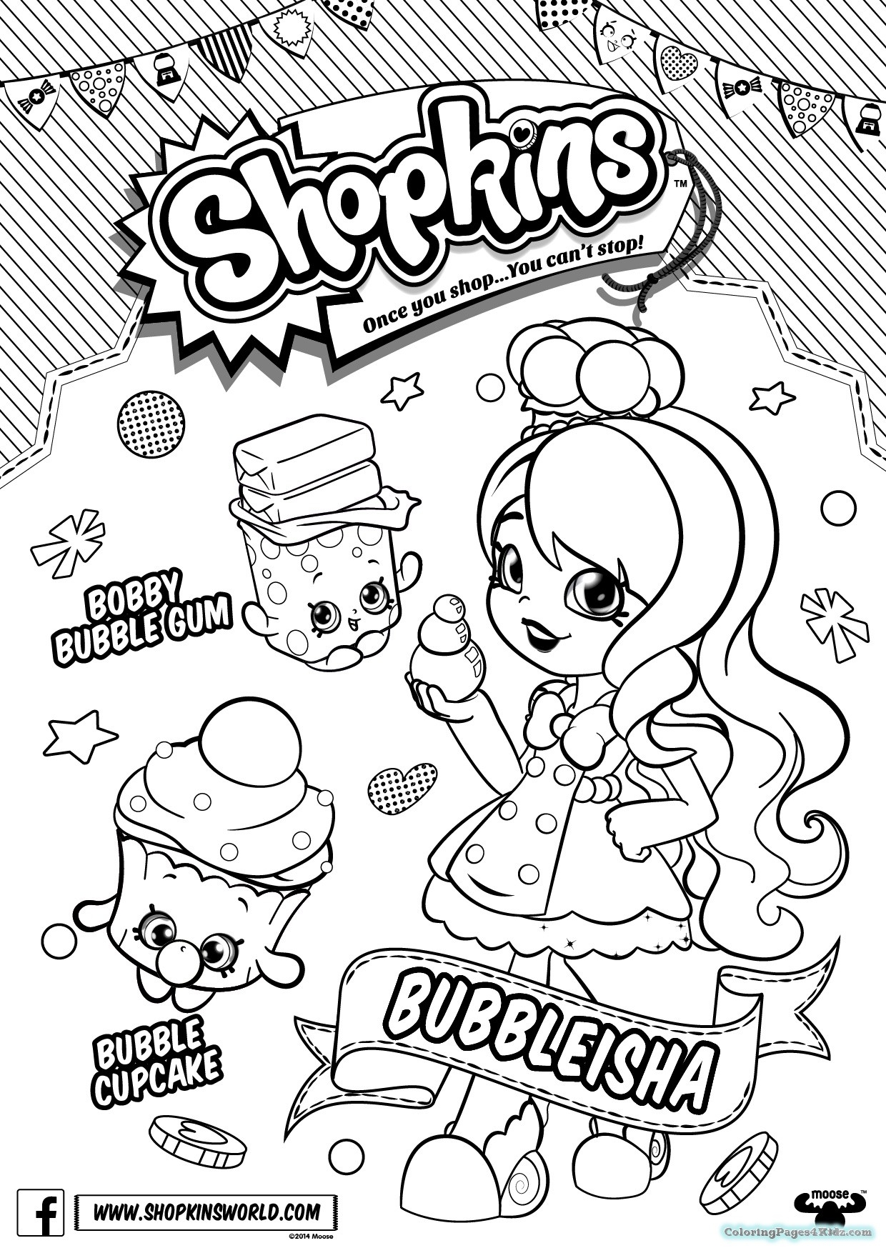 1240x1754 Best Of Sweets Coloring Page Shopkin Free Colouring Pages Free