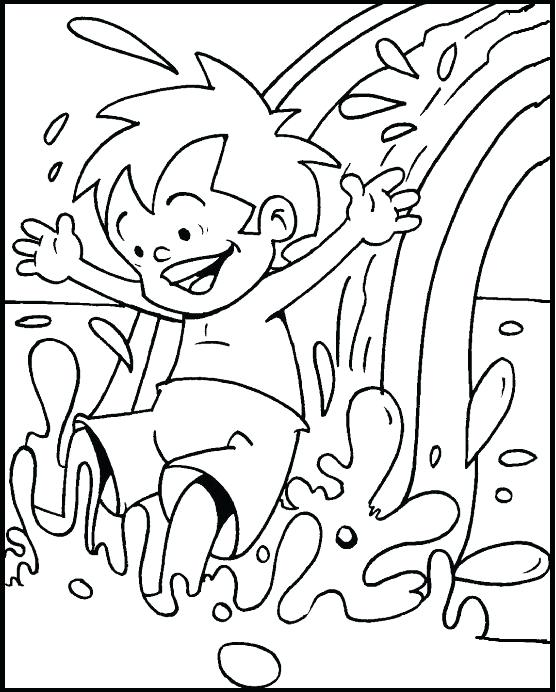 556x692 Swimming Coloring Pages Swimming Coloring Pages Everything